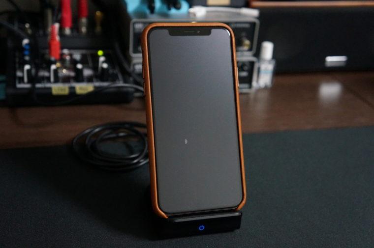 ワイヤレス充電器,Anker,おすすめ,レビュー,PowerWave 7.5 Stand,無接点充電