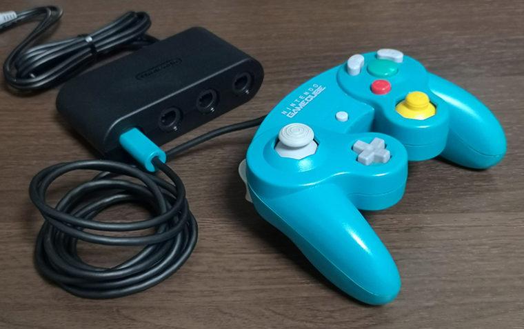 スマブラ、ゲームキューブ、コントローラー、接続タップ
